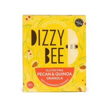Dizzy Bee Gluten Free Pecan Quinoa Granola
