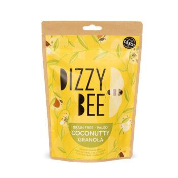 Dizzy Bee Grain Free Paleo Coconutty Granola