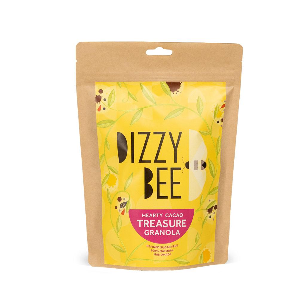 Dizzy Bee Hearty Cacao Treasure Granola